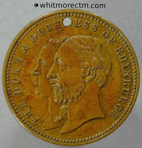 Leeds 1875 Yorkshire Exhibition of Arts & Manufacturers Medal 26mm WE1262