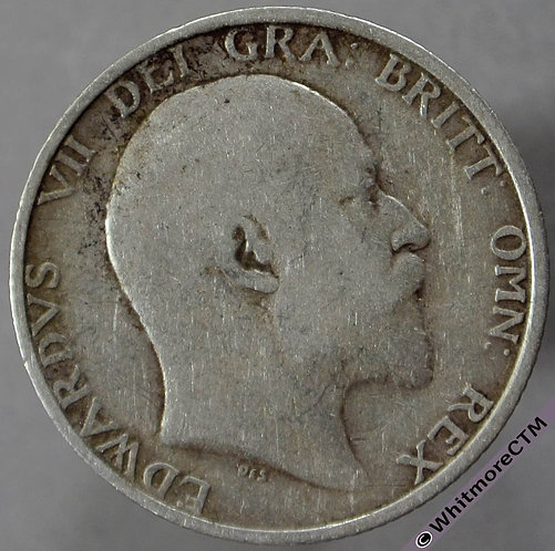 1906 British Shilling Edward VII