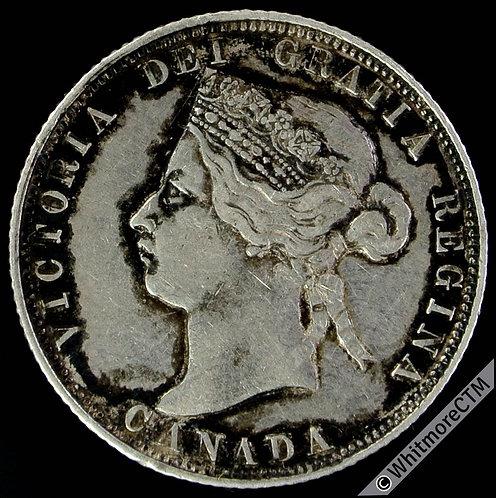 1871 Canada 25 Cent - Rare
