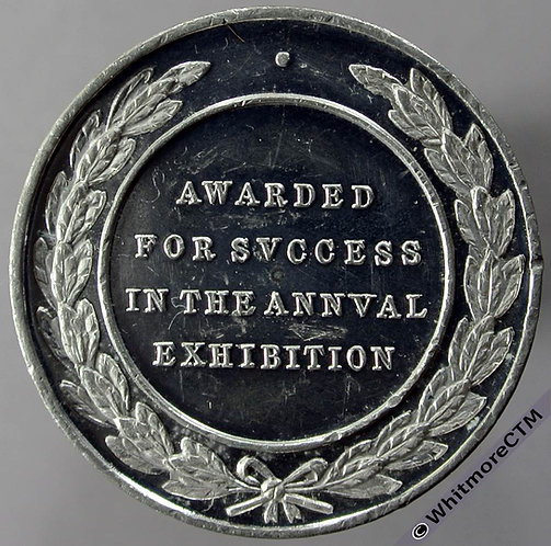 Dorset Arts & Crafts Association Exhibition Medal 32mm By S & S. White metal.