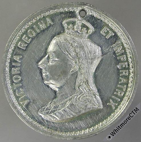 Deane (Hants) 1897 Victoria Diamond Jubilee Medal 39mm Not in Whittlestone WM