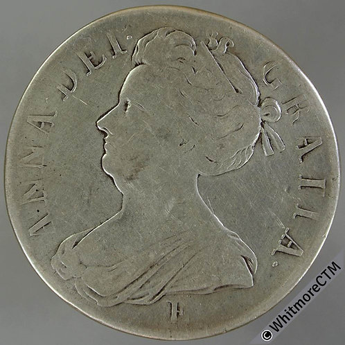 1707 Edinburgh Mint, Queen Anne Crown