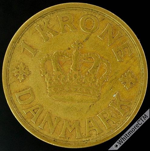 1929 Denmark 1 Krone Y34