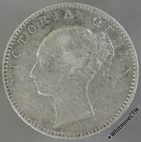 1840 LT British East India Company Half Rupee - S&W 2.32  Y3