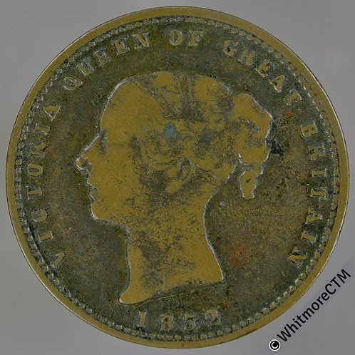 Unofficial Farthing Lowestoft 3110 1852 Ling & Co. Drapers Osborne House. VRare