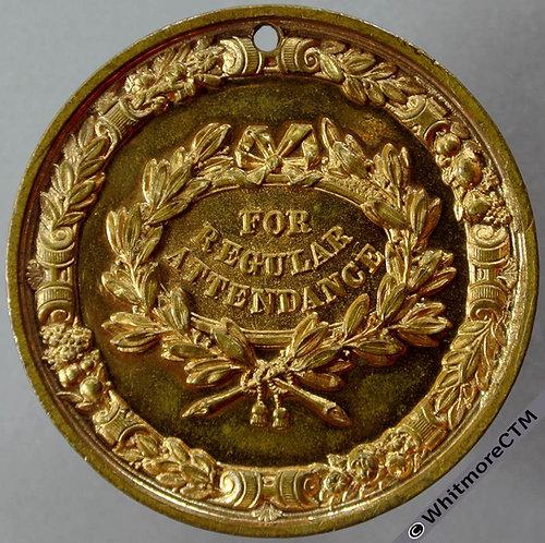 Bootle 1897 Christ Church Higher Grade Schools Attendance Medal 44mm D240