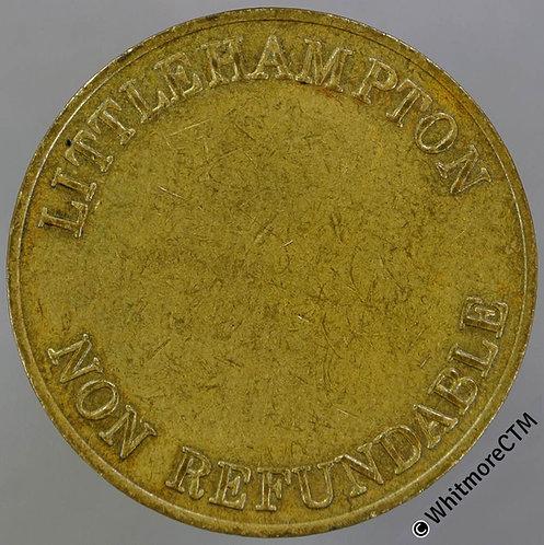Misc Token Littlehampton 29mm Non Refundable - Uniface brass