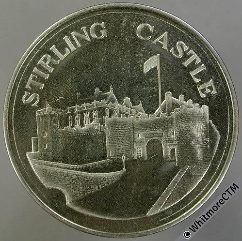 Stirling castle Medal 44mm Cupronickel