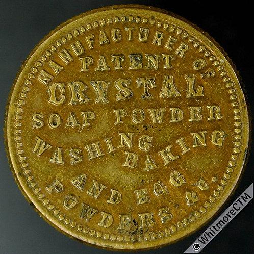 Unofficial Farthing West Bromwich 5060b William Ward - Crystal Soap Powder