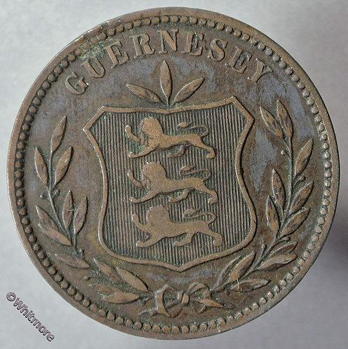 1893H Guernsey 8 Doubles  Large letters E53