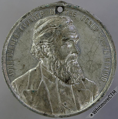 1907 Golden Jubilee of Crystal Palace Festivals Medal 38mm By Pinches. WM