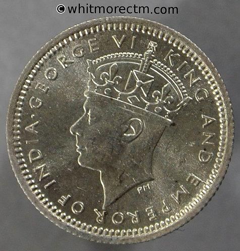 1945 Malaya 5 Cents Y3a - KM# 3a