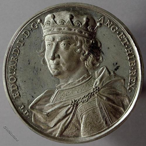 Kings of England Series Medal 41mm Edward I B1437-9 Thomason after Dassier