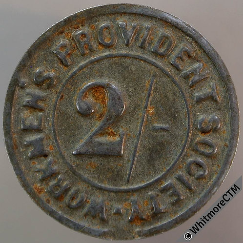 Co-Operative Society Token Middleton-in-Teesdale 24mm Workmens Provident Society