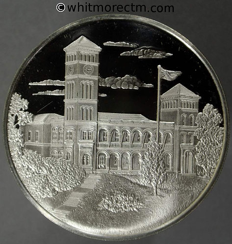 Osborne Isle of Wight 1978 25th Anniversary of Coronation Medal 38mm - Silver