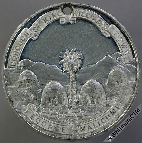 1861 - 1911 King Williams Town Golden Jubilee Medal South Africa - founded 1861