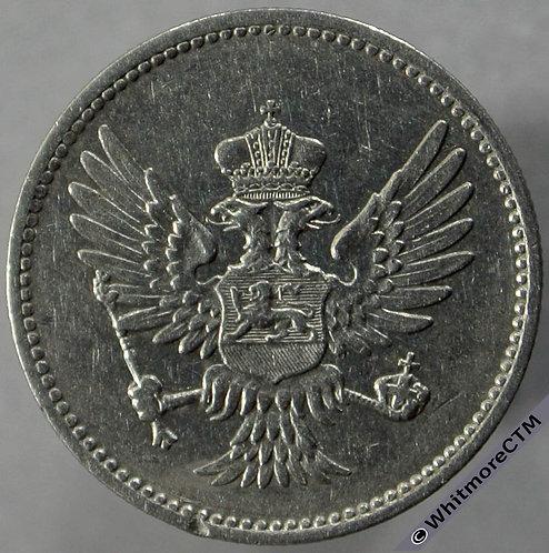 1906 Montenegro 10 Para obv