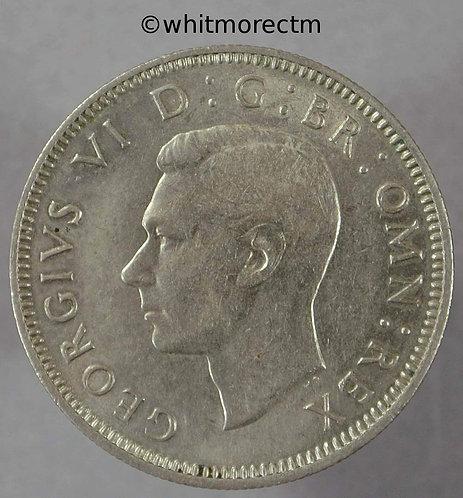 1947 British Shilling Scottish George VI