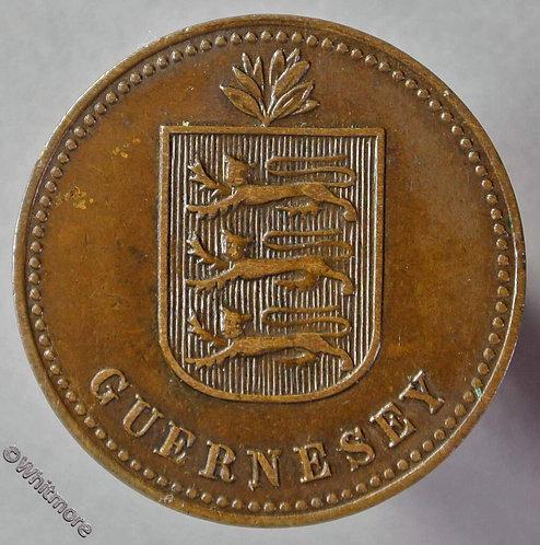 Guernsey 4 Doubles E78 1914H