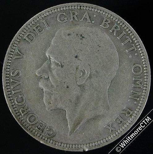1932 British Two Shilling Florin George V