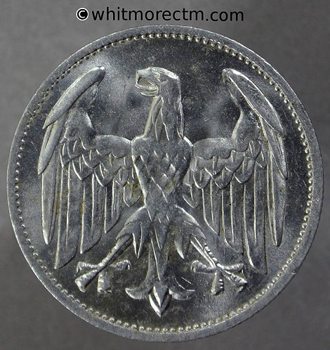 1922 Germany Weimar Republic 3 Marks coin 1922A - Y28