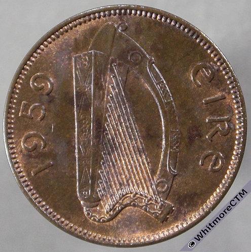 1959 Ireland (Republic) Farthing rev - 20% Luster