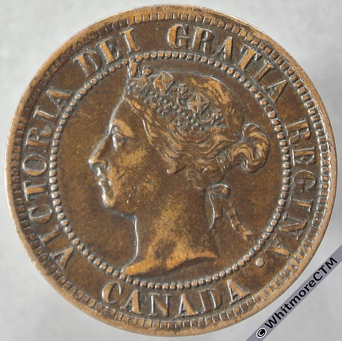 1897 Canada One Cent obv