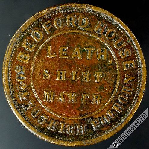 Unofficial Farthing London 2660 Leath Shirt Maker. Hosiery Gloves etc.  By Pope