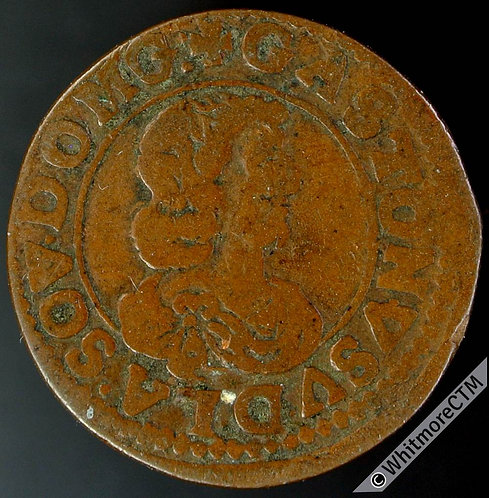 France Dombes - Double Tournois 1641 Gaston.