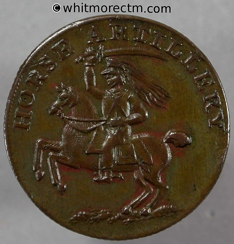 Unofficial Farthing London 2500b Horse artillery - 20mm on thin flan. Bronzed