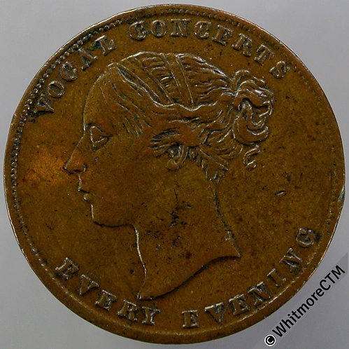 Unofficial Farthing Gravesend 1680 gift from Tulley's Bazaar Promenade concerts