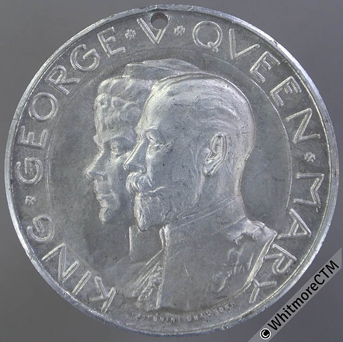 1911 George V Coronation Medal 38mm WE5095 Unrecorded in Aluminium