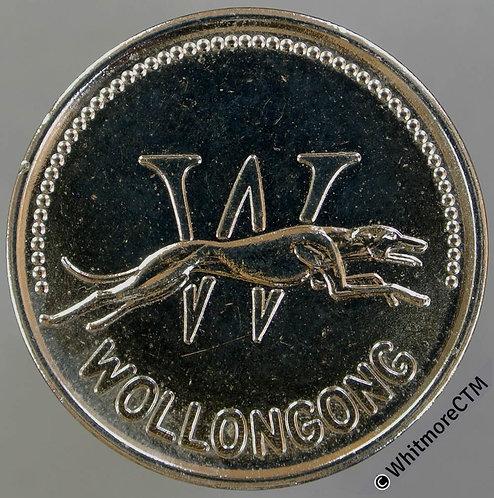 Australia Wollongong Show ground token 32mm Greyhound - Cupro-nickel