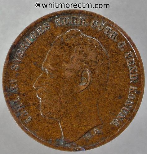 1864 Sweden 2 Öre