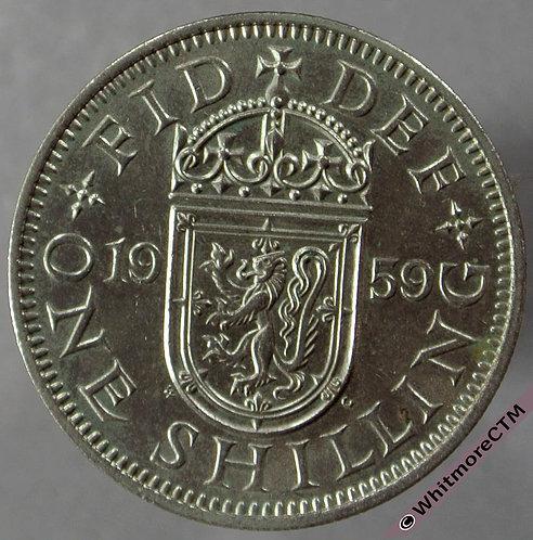 1959 Scottish Shilling