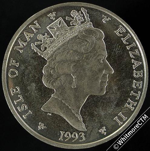 1999 Isle of Man Five Pound - Nigel Mansell - Virenium