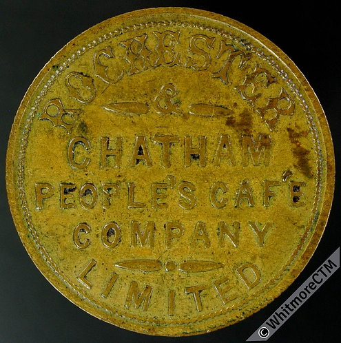 Rochester & Chatham Inn / Pub Token People's Cafe Company - one pennywort