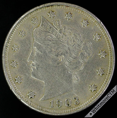 1903 USA Five Cents