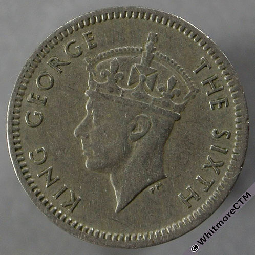 1948 Southern Rhodesia 3 pence obv