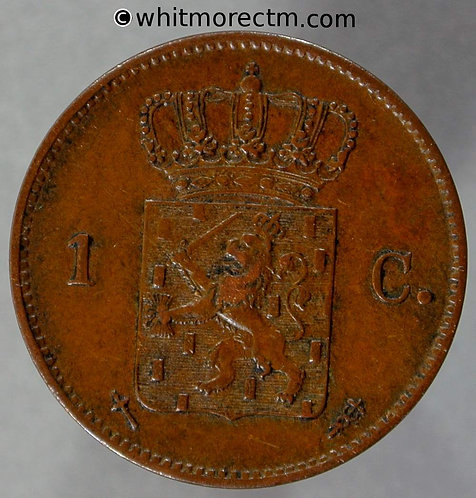 1870 Netherlands 1 Cent Y2