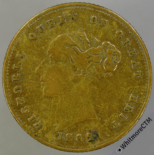 1862 Queen Victoria Prince Albert Medal 23mm Not in Brown or Whittlestone. Brass