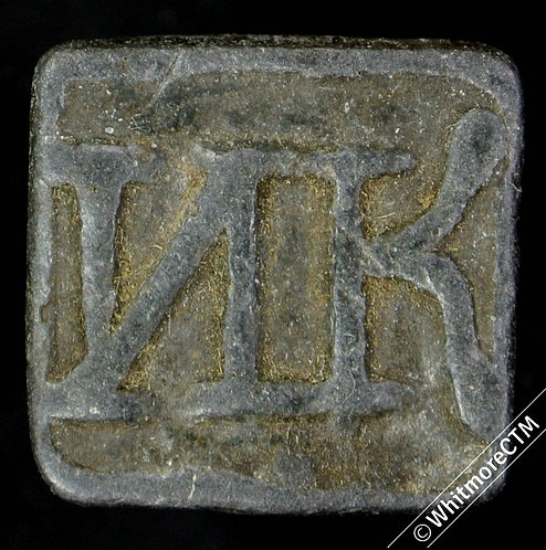 Communion Token Newlands (Peebles) 17mm NK (as C4640 but N retrograde) Square