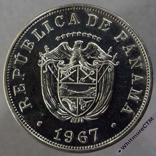 1967 Panama 5 Centesimos - obv