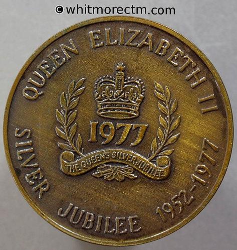 1977 Canada Ontario Queen Elizabeth II Silver Jubilee Medal 32mm WE8902A Bronze