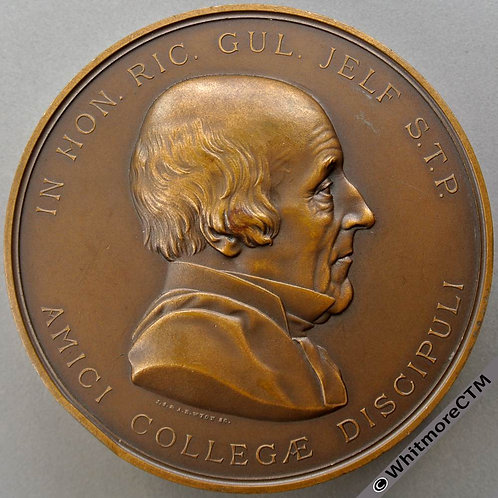 King's College London Richard Jelf Medal 76mm By JS & AB Wyon. Awarded 1938