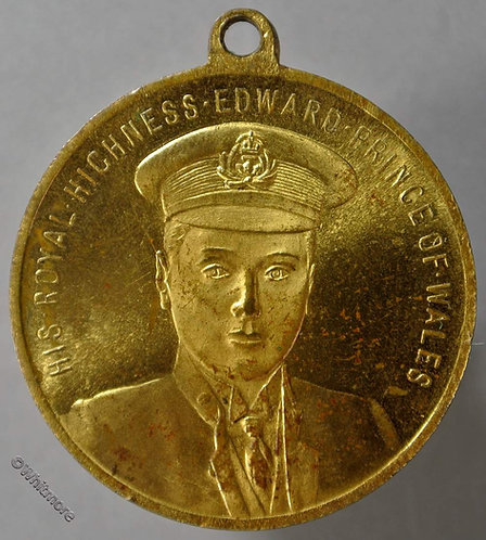 1911 Investiture of Edward (VIII) Prince of Wales Medal 32mm WE6070 - Rare