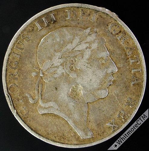 1813 Ireland under English Rule Ten Pence Bank Token George III