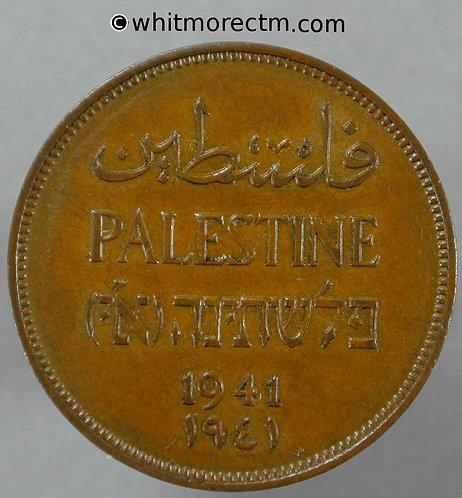 1941 Palestine 2 Mils coin