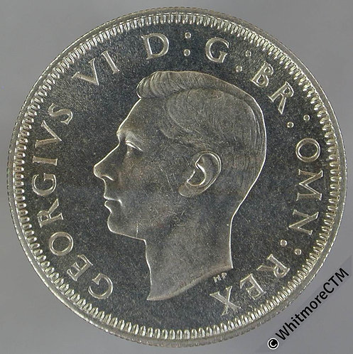 1950 Scottish Shilling George VI - Proof About FDC