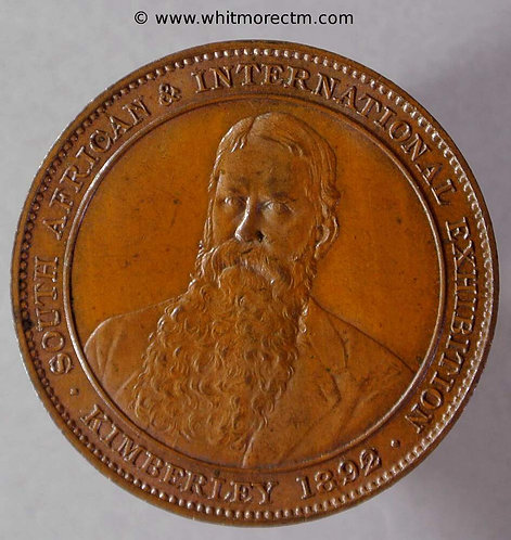 1892 South Africa International Expo medal 29mm